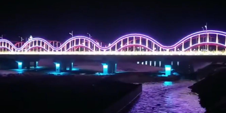 期待已久的桥梁夜景亮化经典工程案例赏析来了