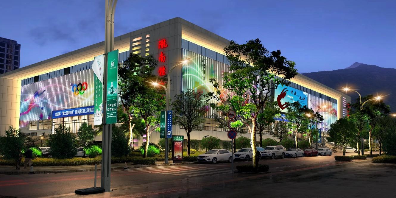 陇南市体育馆亮化项目