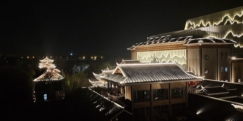 铭记属于我们合创未来照明的骄傲:桂林市融创文旅城