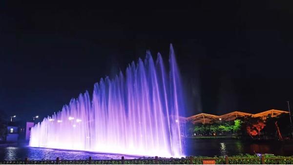 广场喷泉亮化